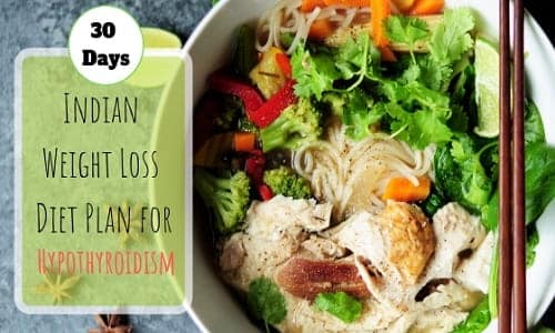 Indian Weight Loss Diet Plan for hypothyroidism