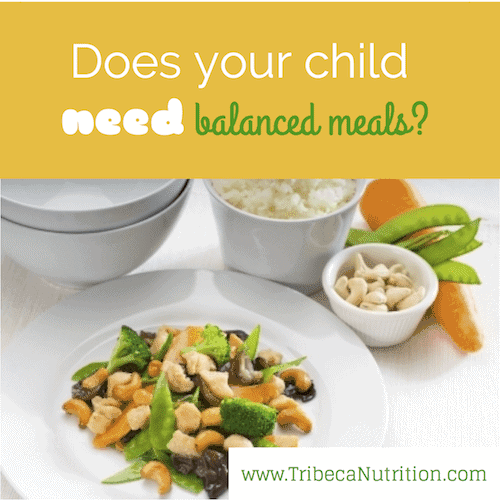 Are balanced meals that important?
