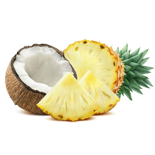 coconut-pineapple