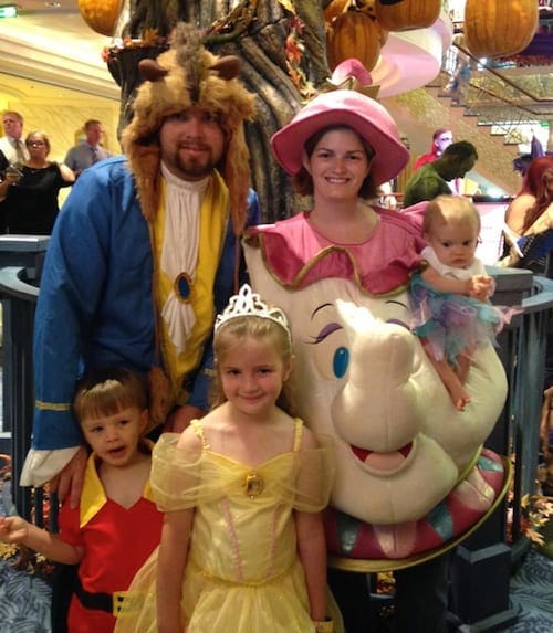 Beauty and the Beast Family Costume