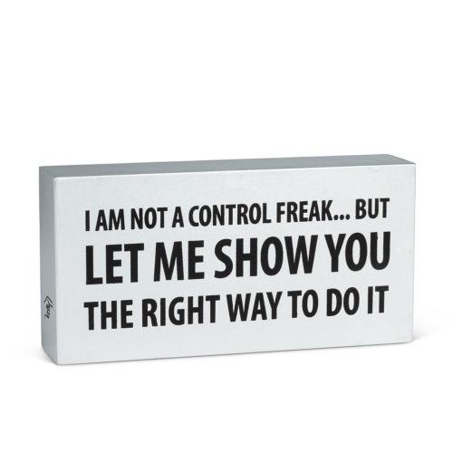 Abbott Decor Control Freak Block