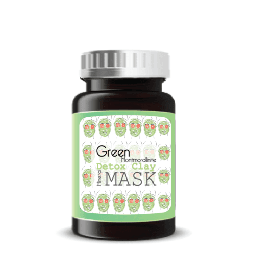 green detox kleimasker groene klei