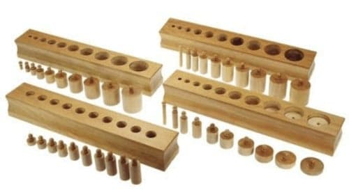 Montessori-Store Emboîtements cylindriques