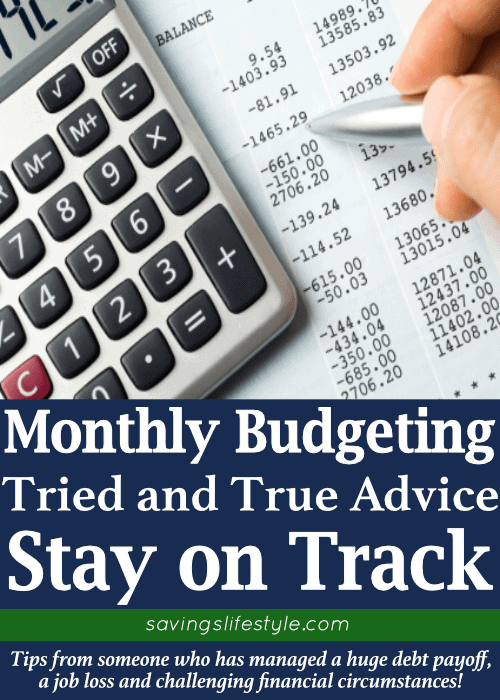 Monthly budget template to help you stay on financial track! These budgeting tips for families are simple to implement and can make a huge difference to your budget!