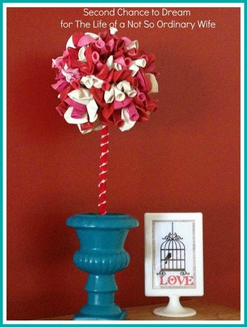 Second Chance to Dream: Valentine Balloon Topiary
