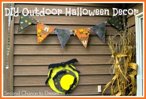 Second Chance to Dream: DIY Outdoor Halloween Decor