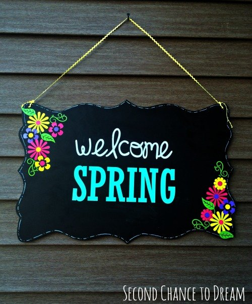 Second Chance to Dream: Welcome Spring #spring #DIY