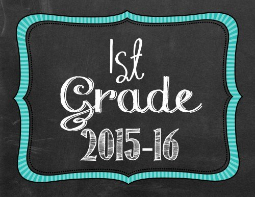 Back to School Photo Printables