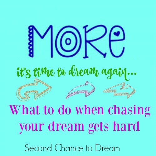 Second Chance to Dream: What to do when chasing your dream gets hard