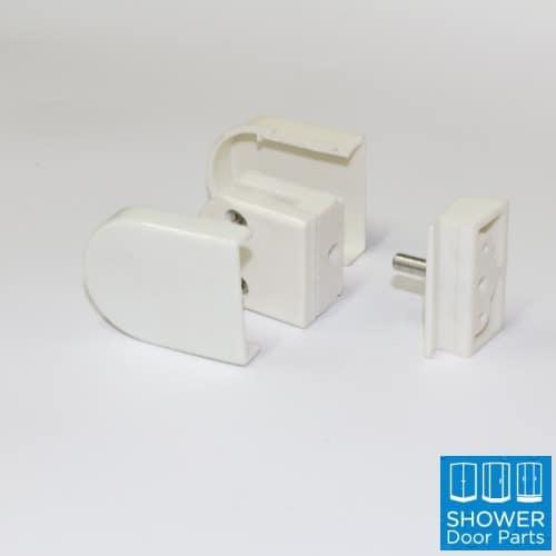 shower door pivot white A3PB ShowerDoorParts