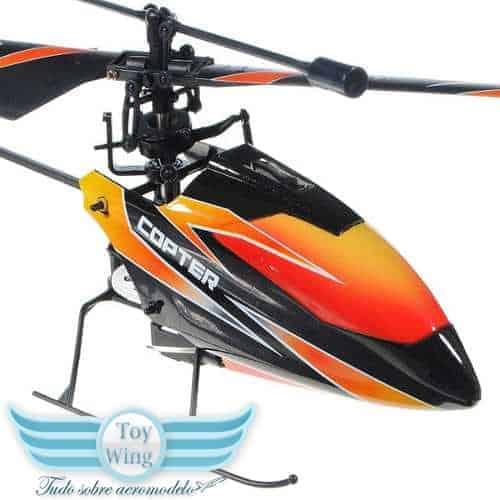 v911 Helicoptero 4 ch novo RC - 1