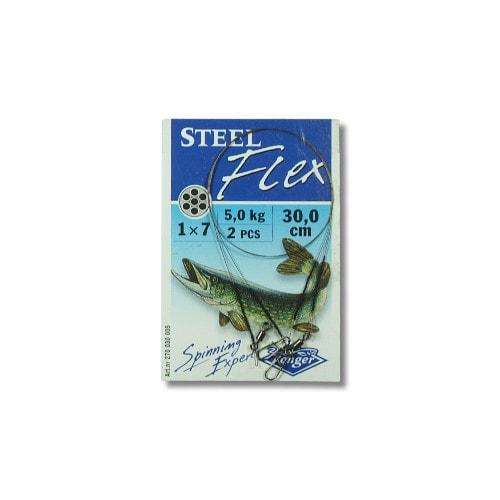 Konger Stahlvorfach Steelflex 5kg