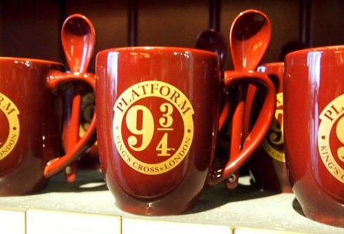 Platform 9 and three quarters harry potter mug. Harry Potter Experiences Around the World.