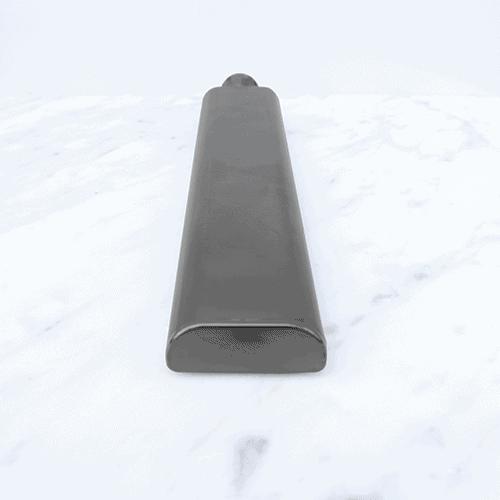 Kobi Curved Hand Shower - Gun Metal