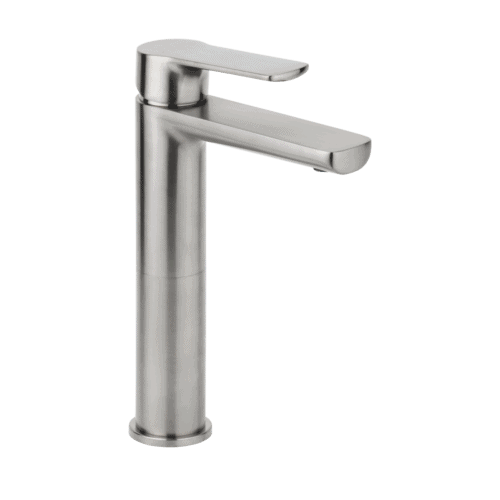 Akoni Basin Mixer Extended - Brushed Nickel