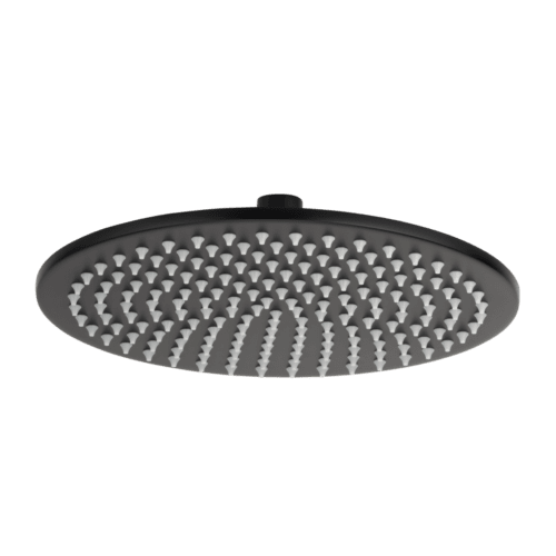 Dana Round Shower Head 250mm - Matte Black