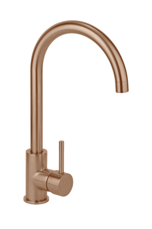 Copper kitchen tap - Elysian Kitchen Mixer - Brushed Copper
