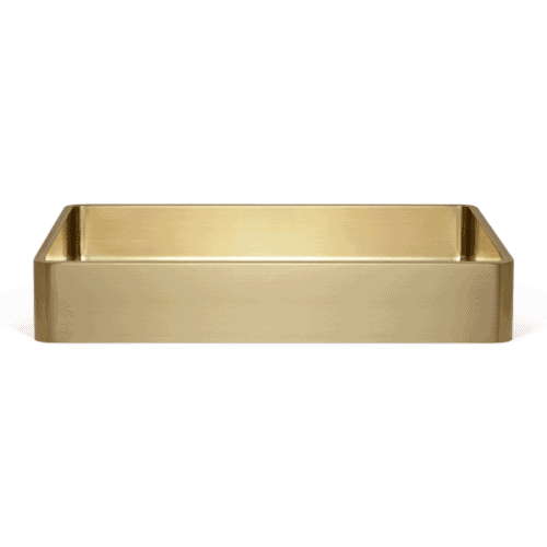Ora Basin Sink 470mm - Brass
