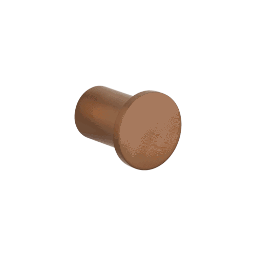 Otto robe hook - Brushed Copper