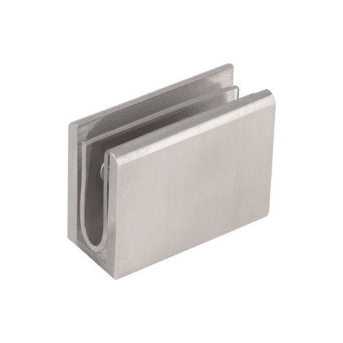 Pius Glass Panel Clip - Stainless Steel