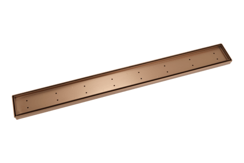 Pixi Tile Insert Shower Channel Waste 900mm - Brushed Copper