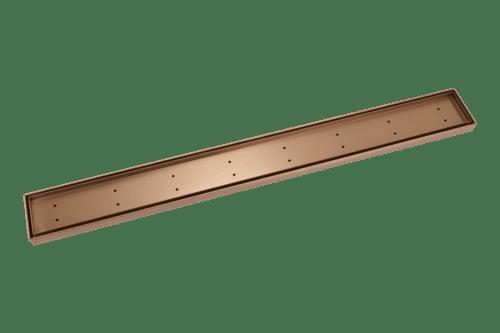 Pixi Tile Insert Shower Channel Waste 900mm - Brushed Copper