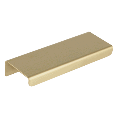 Cabinetry Pull Extended 100mm - Brass