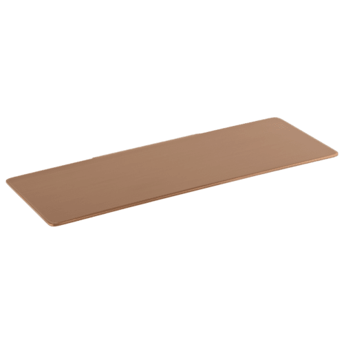 Vaada Extended Shower Shelf Soap Dish 440mm - Brushed Copper