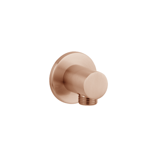 Zana Round Shower BP - Brushed Copper