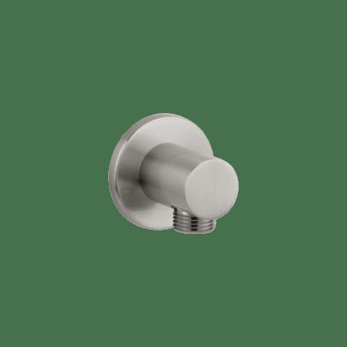 Zana Round Shower BP - Brushed nickel