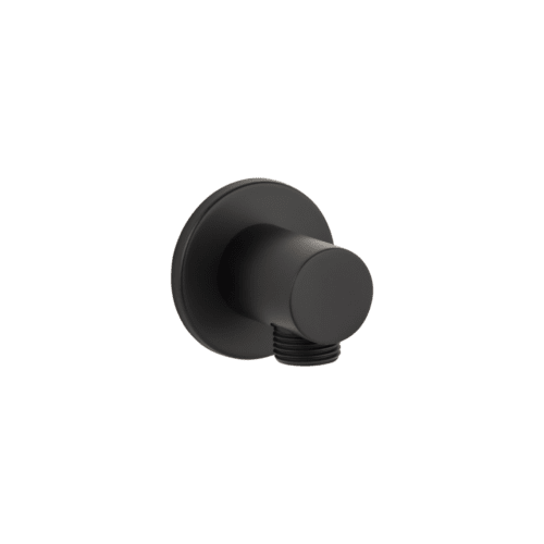 Zana Round Shower BP - Matte Black