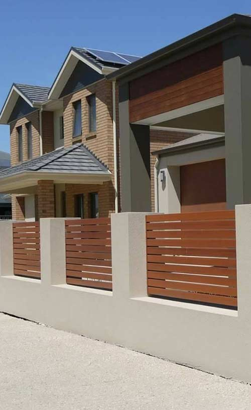 home fence in Perth