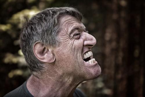 Homem raiva