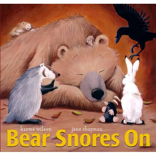Bear Snores On Amazon Cover