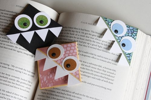 8 Cute DIY Bookmark Ideas - Fun Kids Craft Idea