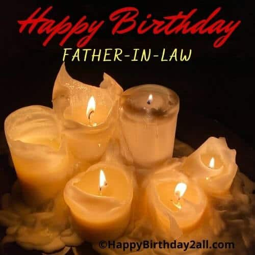 Happy Birthday respected father in law