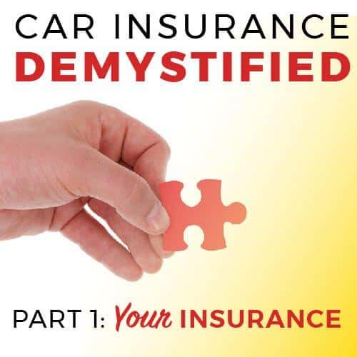 car insurance demystified graphic, your insurance
