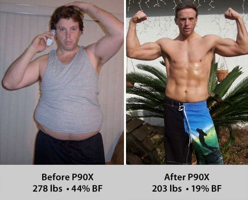 P90X Male Weight Loss Testimonials