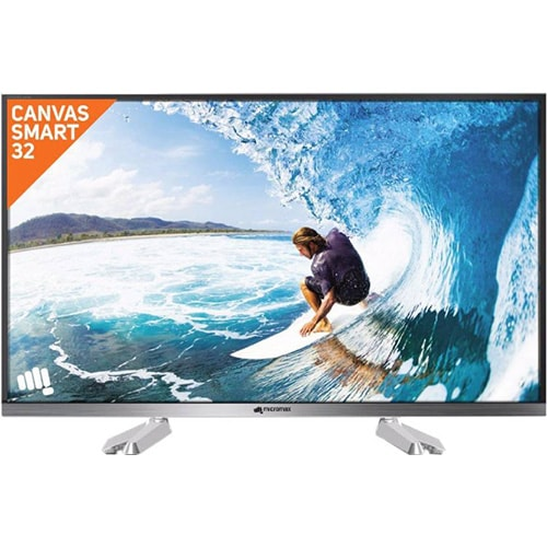 Micromax 32 inch HD Ready LED Smart TV 32 Canvas S2