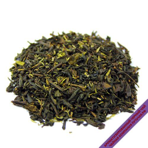 Купить ароматизированный Чёрный чай с добавками с Чабрецом оптом и в розницу