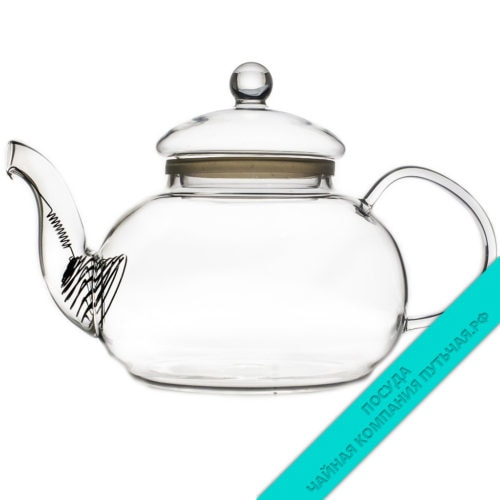 Купить заварочный чайник из жаропрочного стекла Тюльпан 600 мл
