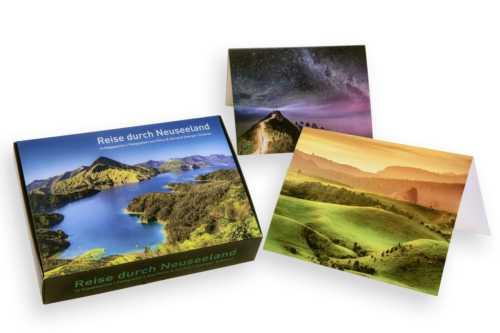 Postkartenbox Neuseeland
