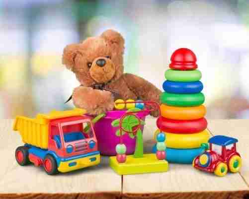 Rent a Box of Toddler Toys