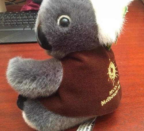 100% Australian made Koala