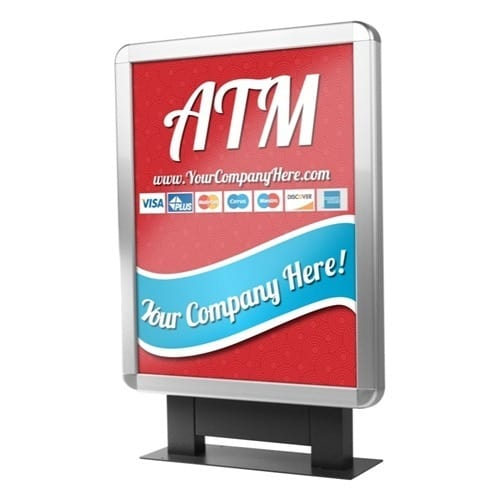 Custom ColorBrilliance Hyosung High Bright ATM Graphic Topper Insert (15 x 19)