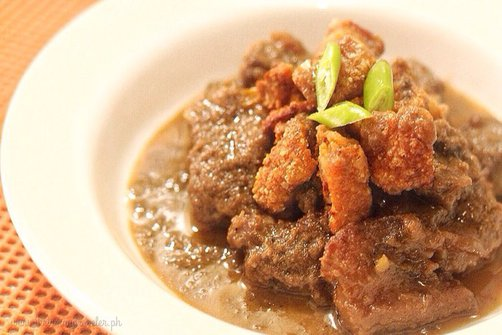 Pork Binagoongan in Coconut Cream