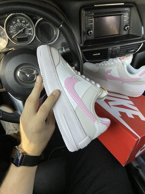 Nike Air Force Shadow Grey Pink (Серый) • Space Shop UA