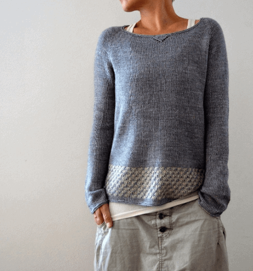 Llevant sweater Love Knitting