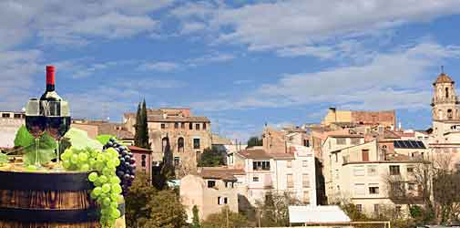 La Fira del Vi - Wine Festival in Falset, Spain