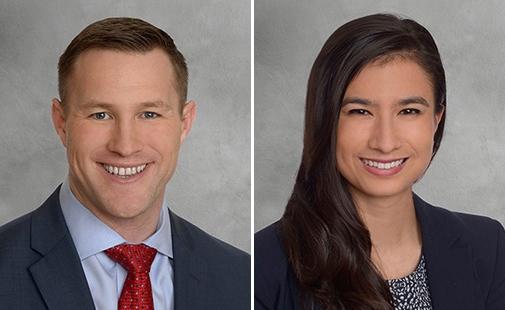 Erik Larson and Alysia Mattson, CBRE